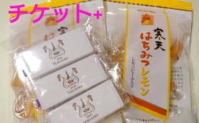 長野大会一般席チケット&ミセスジャパン長野ミントとソフトキャンディーセット