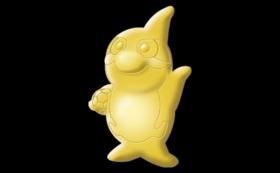 【グッズで応援】支援者限定純金のグランパスくん  supported by KOMEHYO