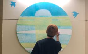 村岡ケンイチが描くホスピタルアートSサイズ