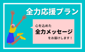 全力応援プラン(3000円)