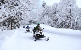 【クラウドファンディング限定】雪番長スノーモービルツアー