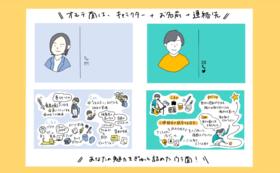 メモリ名刺の作成(デザイン担当:しおりん)