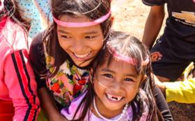 【cuepitプラン】カンボジアの子どもたちの激カワポストカード