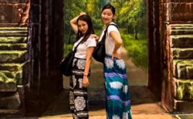 【アリババプラン】カンボジアの伝統衣装であるアリババ
