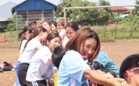 カンボジア満喫セット(アリババ、ミサンガ、ポーチ、ポストカード)