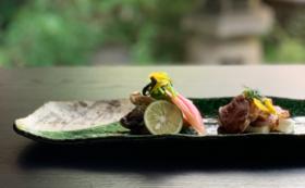 【福井県外の方限定】萬谷の特別コース料理ペア招待