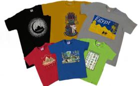 エジプトのご当地Tシャツ