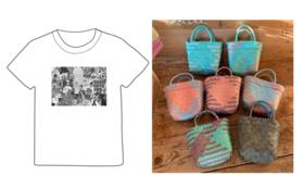 Oasis オリジナルTシャツ 2021 & カゴバックS