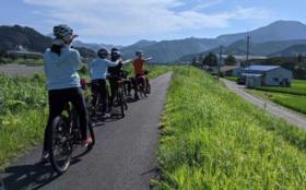 サイクリング体験 ~白浜名所・スイーツ巡りコース~