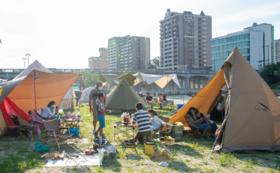 乙川を体験!「Let it Camp」でまちなかキャンプコース
