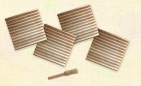 4枚セット割:【このんトーストプレート】4枚+ブラシ1本