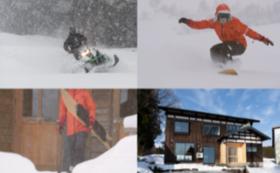 【雪郷xKAZUSHIGE FUJITA】岡沢の冬の恵みを満喫するスノーセッション