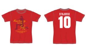 【グッズで応援】OBストイコビッチさんプリントサイン入Tシャツ【選手時代】