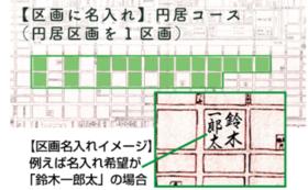 【区画に名入れ】円居コース(円居区画を1区画)
