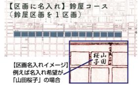 【区画に名入れ】鈴屋コース(鈴屋区画を1区画)