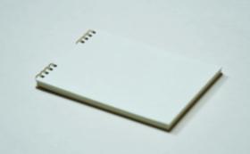 【10%OFF】⑥越前製紙工場・耳付き和紙トリノコノート1冊(B6サイズ)