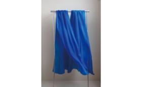 8.川俣シルクのスカーフ(青)プラン