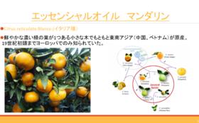 香料講座 天然香料柑橘系の香り 香料付き
