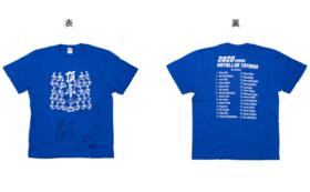 カターレ富山【サイン入り】Tシャツ+北日本新聞にお名前掲載