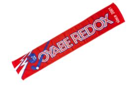 小矢部REDOXマフラータオル(赤色)+北日本新聞にお名前掲載