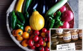 辻岡農園 旬の野菜と日本みつばちの蜂蜜セット×3回