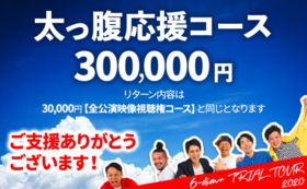 太っ腹応援コース|30万円