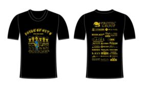 【オリジナルグッズコース】全選手サイン入りPRIDE OF MITO Tシャツ