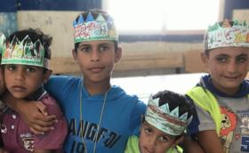 ★5,000円支援コース:ご支援の多くがシリア難民キャンプの授業運営に使われます