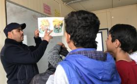 ★100,000円支援コース:ご支援の多くがシリア難民キャンプの授業運営に使われます
