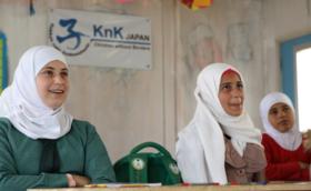 ★1,000,000円支援コース:ご支援の多くがシリア難民キャンプの授業運営に使われます