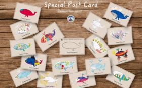ポストカードコース /PostCards【For residents of Japan】