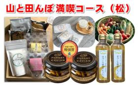 山と田んぼ満喫コース(松) 50,000円