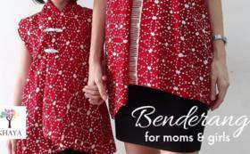 ご家族のプレゼントにおすすめ!オリジナル オーダーメイドバティックシャツ/ドレス by '' Khaya Batik''