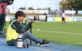 【スペシャル体験コース】リーグ公式戦でピッチカメラマン体験