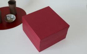 重箱2段キット1セット、紙製トレイ付き