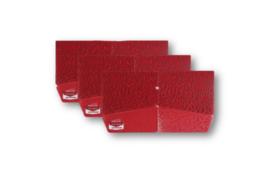 大人のマスクケース 赤色 3枚セット