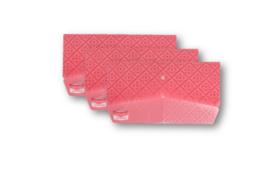 大人のマスクケース ピンク色 3枚セット