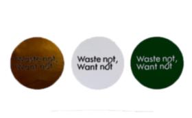お気持ち支援コース/Wastenot,Wantnot ステッカー付