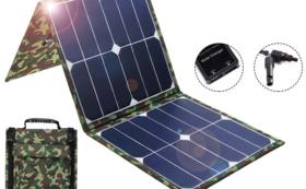 100W 折り畳み 防水軽量ソーラーパネル 早割特別 30%OFF