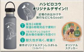 【完売】グッズで応援|オリジナルステンレスボトルコースE(シルバー)