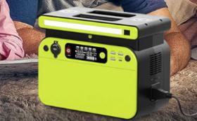ポータブル電源 500W ワイヤレス充電機能付き 早割特別価格 35%OFF