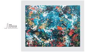 """安井鷹之介作品を保有しよう 1カベパトロン権+作品名『Islander's """"O"""" #2』96cmx123.5cm"""