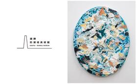 """安井鷹之介作品を保有しよう 1カベパトロン権+作品名『Islander's """"O"""" #10』51cmx41cm"""
