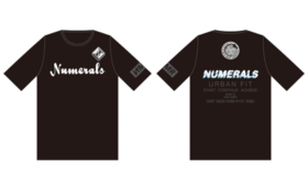 【スポンサー協賛グッズコース】NUMERALS・2020選手移動用シャツ(レプリカ)