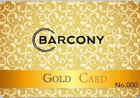〈readyfor限定〉Barconyゴールド会員1ヶ月プラン30%OFF