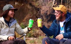 【ライトご支援コース】数量限定[thermo mug製]山鳥ロゴ入りサーモマグ