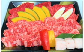 西部開発農産の国産黒毛和牛「きたかみ牛」焼肉食べ比べセット(2〜3人前)