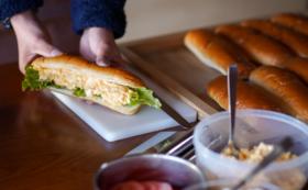 パンカフェ食べて応援コース