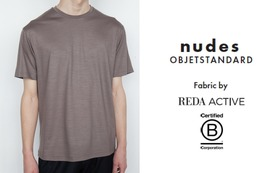 nudes - objetstandard メリノウールTシャツ (メンズ・レディス)