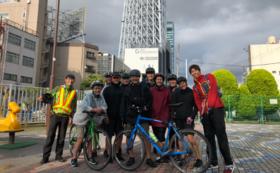 都内E-bike tour 1人参加